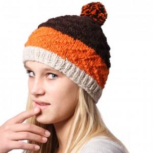 Zimní čepice Garis oranye