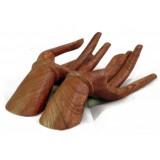 Ruce - dřevořezba