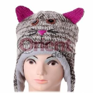 Čepice Mourovatá kočka
