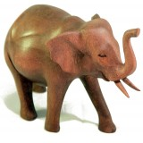 Slon dřevořezba
