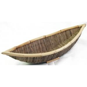 Ratanová ošatka - loďka