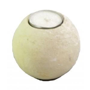 Kamenný svícen - koule